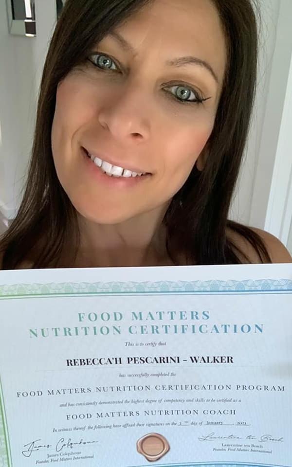 Rebecca'h Pescarini - Walker Testimonial